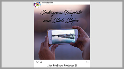 Instagram - Template and Slide Styles