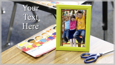 Kindergarten Tall Frame Slide Style