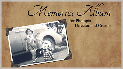Memories Album Template and Style Pack for Photopia