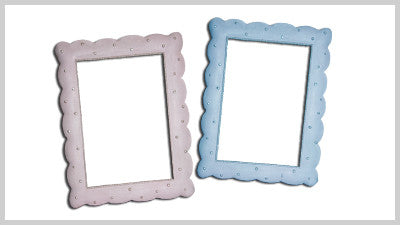 Blue and Pink Pearl Frames