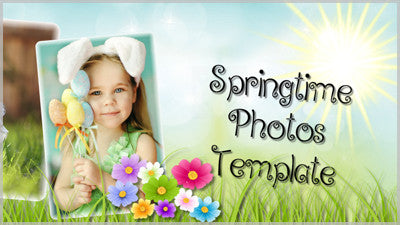 Springtime Photos Template