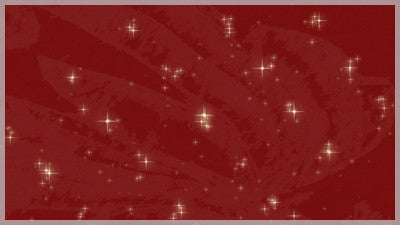 Twinkle Stars Red