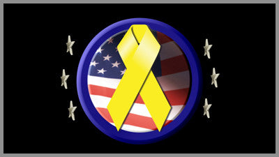 United States Yellow Ribbon Overlay
