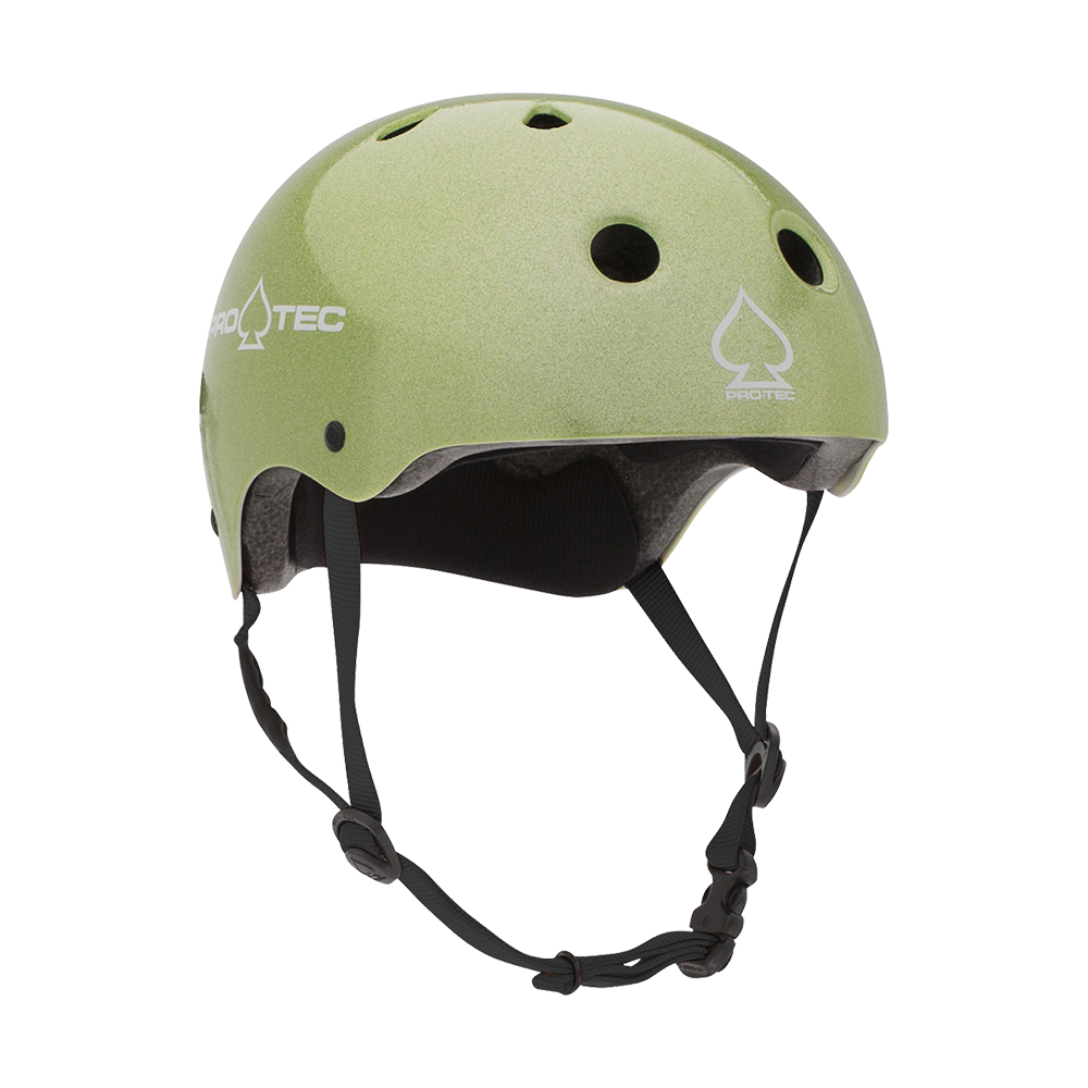 JR CLASSIC FIT - GREEN FLAKE (CERTIFIED) - Pro-Tec Australia