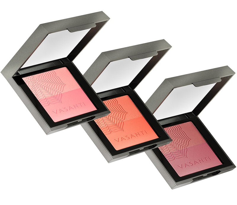 Vasanti Blush Duo - All shades front shot