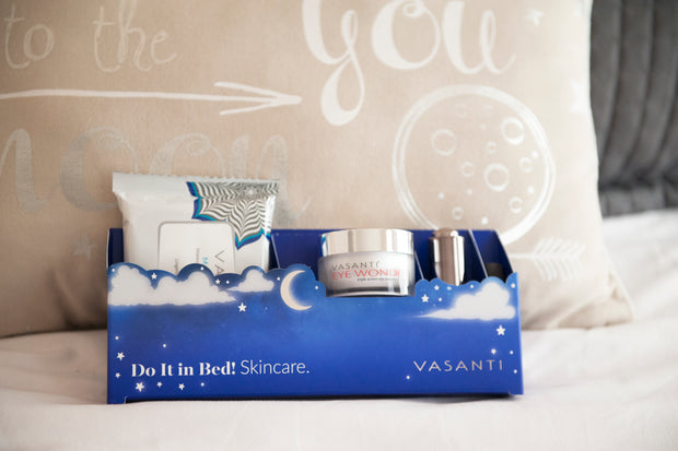 Vasanti Do it in Bed. Skincare. - Nighttime Skincare Routine
