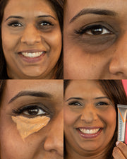Vasanti Liquid VO2 Circle Eraser Before and after comparison - Grid collage