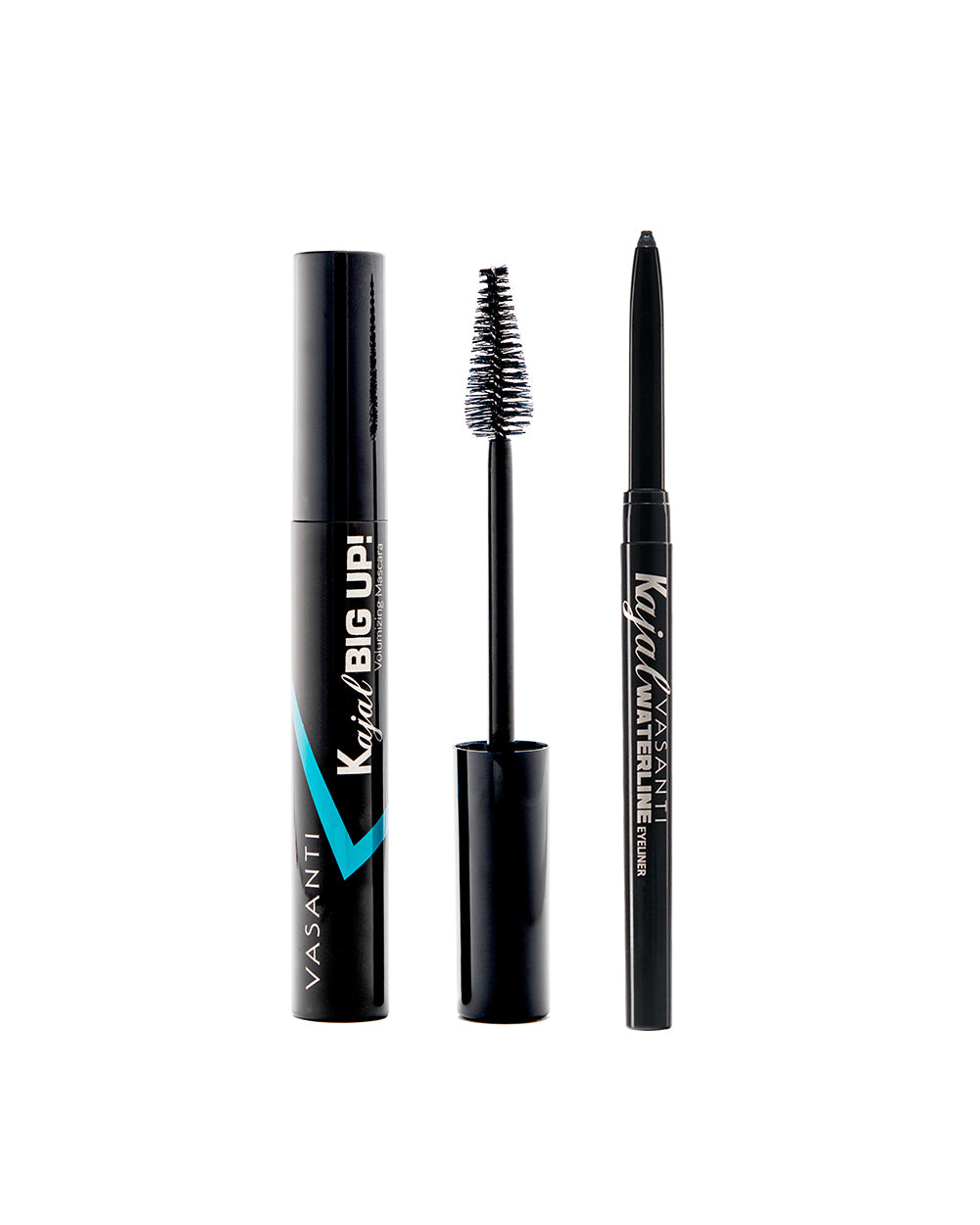 Kajal Big Up! Volumizing Mascara + Kajal Waterline Eyeliner