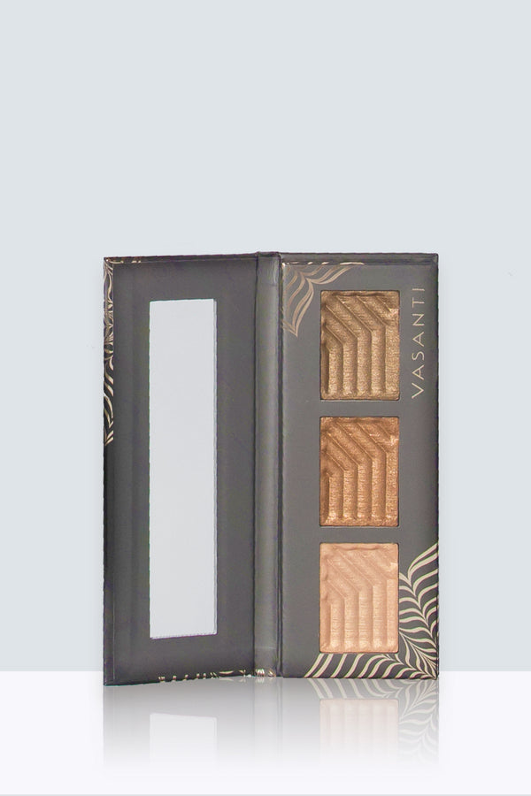 Vasanti Synchronicity Eyeshadow Trio Kit - Front Shot