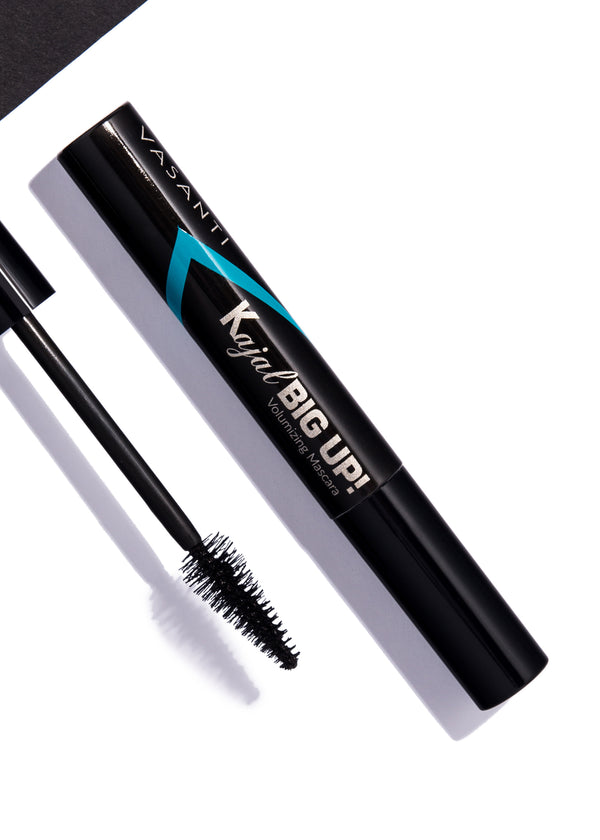 Vasanti Cosmetics Kajal Big Up! Volumizing Mascara - Lifestyle Shot