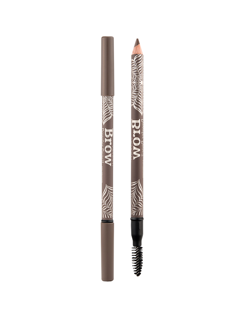 Vasanti Brow Powder Pencil - Shade Ash Brown Front Shot