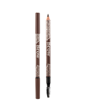 Vasanti Brow Powder Pencil - Shade Dark Brown Front Shot