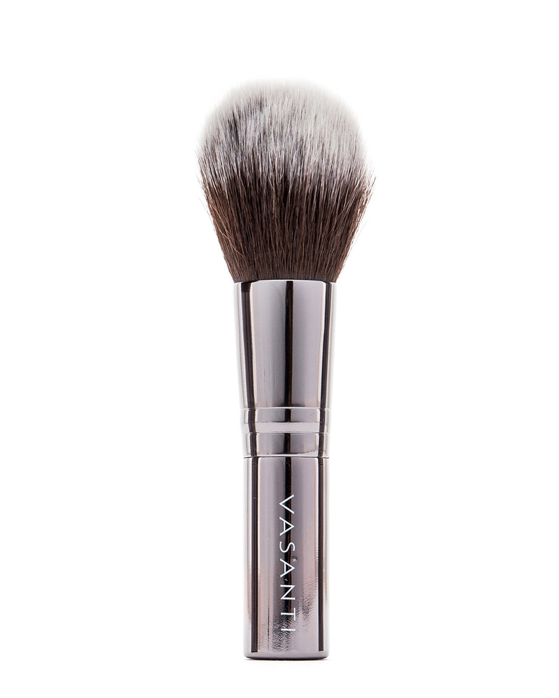 Vasanti Stubby Fluff Brush - Full size front shot