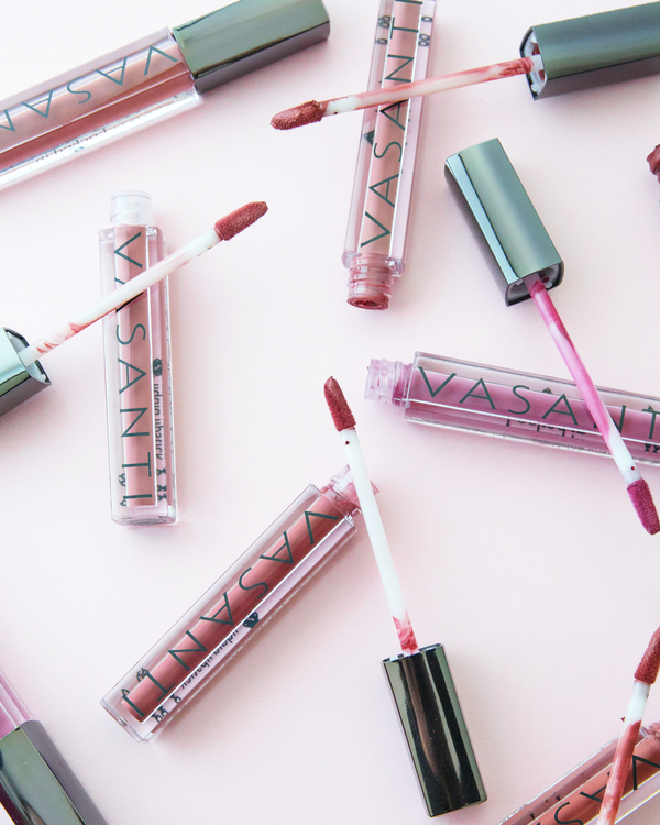 Vasanti Locked in Liquid Lipstick - Lifestyle shot