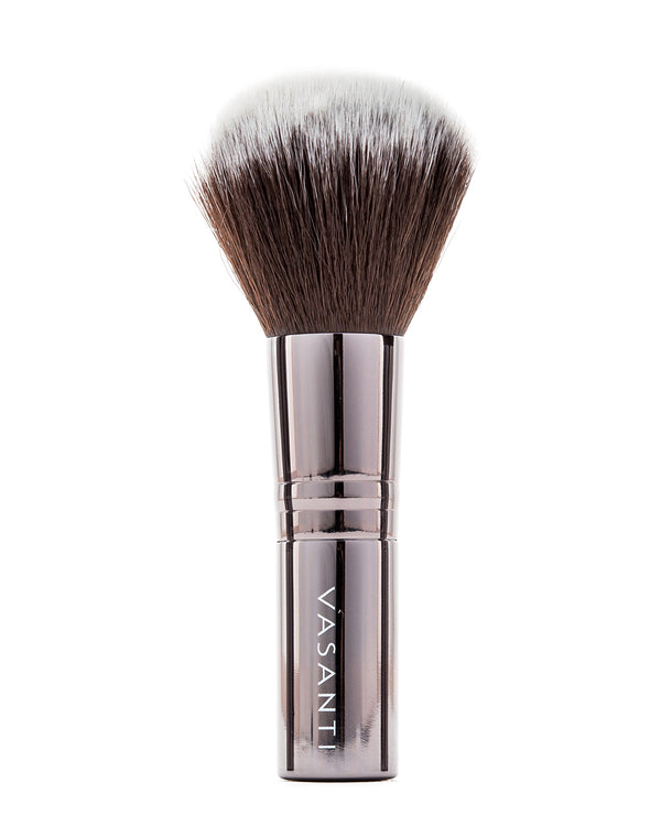 Vasanti Stubby Powder Brush - Full size front shot