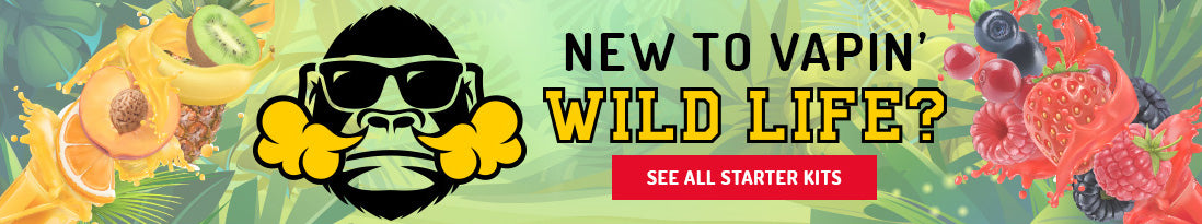 new to vapin' wild life banner