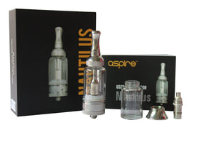 Pieces in the Aspire Nautilus BVC Clearomizer Kit