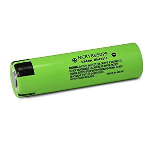 Panasonic NCR 18650PF 2900mAh 3.7v Flat-Top Battery