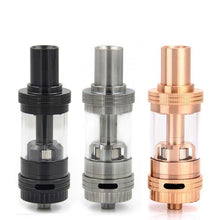 Three Uwell Crown Sub-Ohm Tanks in different colors