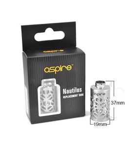 Aspire Nautilus Mini Hollow Sleeve Replacement Tank and box