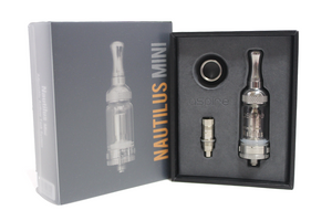 Packaged Nautilus Mini BVC Clearomizer Kit