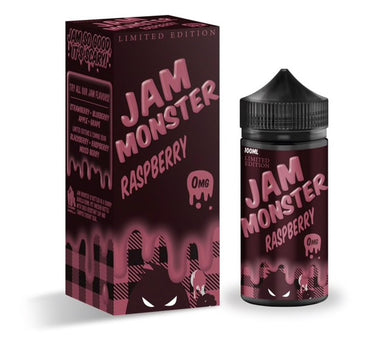 Jam Monster Raspberry 100ml Ejuice VapinGorilla.com vape juice