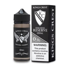 King's Crest Duchess Reserve 120mL vape juice