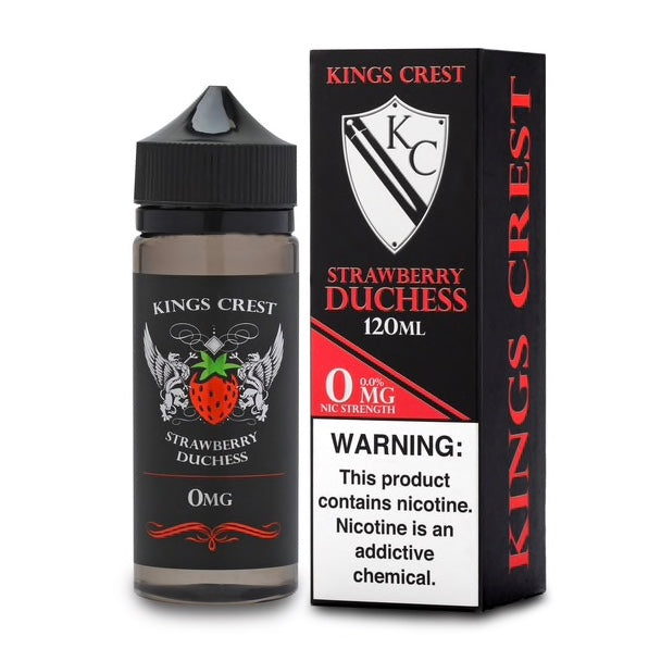 Kings Crest Duchess Strawberry Reserve 120mL vape juice