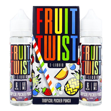 Tropical Pucker Punch Fruit Twist E-Juice 120ml E-Liquids