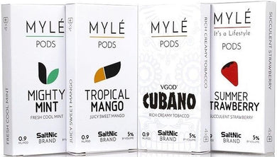 Mylé Vape Replacement Pods - 4PK