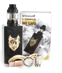 Sigelei SnowWolf MFENG 200W TC Box Mod and Snowwolf Wolf Sub-Ohm Tank Starter Kit