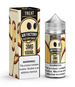 Treat Factory Custard Craze 100ml by Air Factory's  E-liquid vape juice