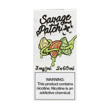 Savage Patch OG Patch 120mL Vape Juice Package Box