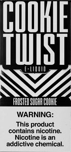 Cookie Twist Frosted Sugar Cookie 120ML Box Vape Juices Vapor