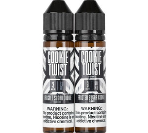 Cookie Twist Frosted Sugar Cookie 120mL  Bottle Vape Juices Vapor