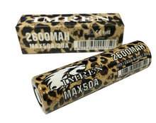 Imren (Leopard) IMR 18650 (2600mAh) 50A 3.7v Battery Flat-Top