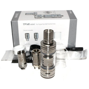 Smok TFV4 Mini Sub-Ohm Tank Full Kit Contents