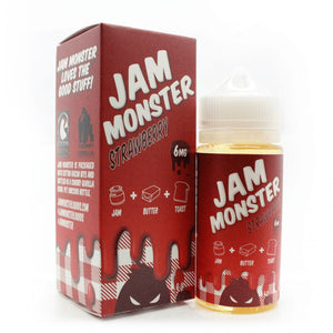 Jam Monster Strawberry 100mL Ejuice