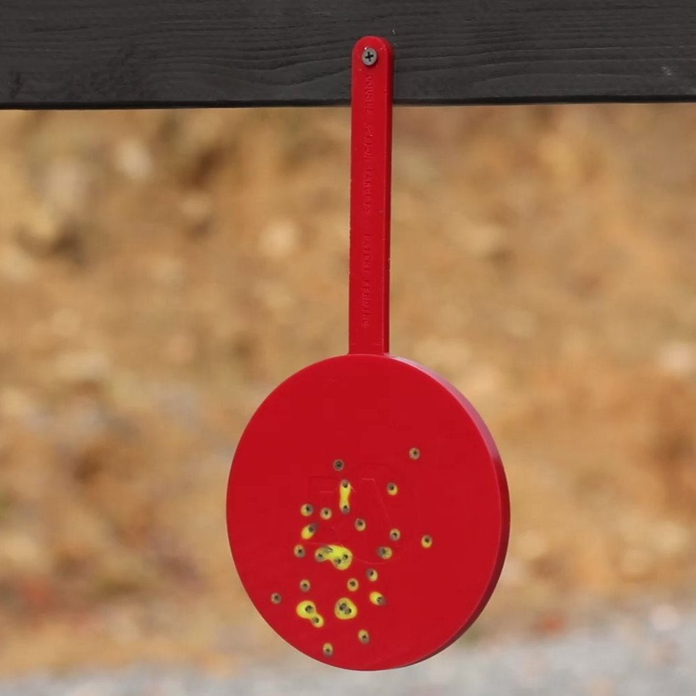 "6"" Self-Sealing Color-Changing Target"