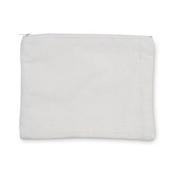 100% Cotton Drill Zip Pouch - 24x18
