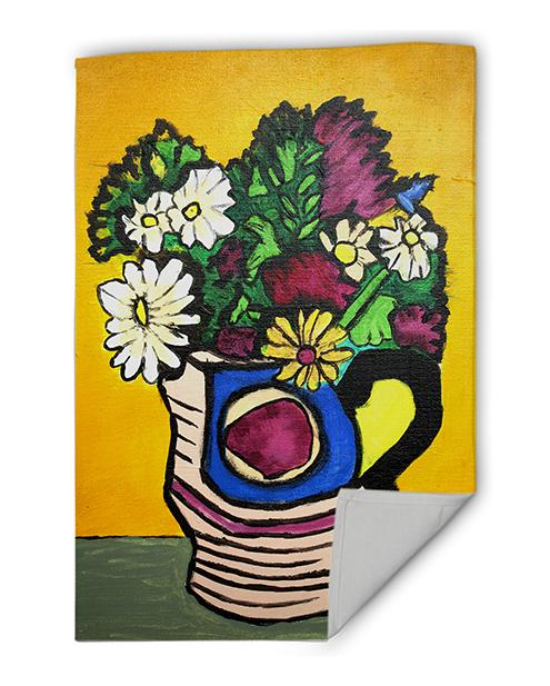 Flowers - Tea Towel