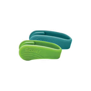 Teal & Green Combo Pack of Aculief Wearable Acupressure™