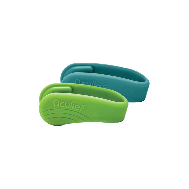 Teal & Green Combo Pack Aculief Wearable Acupressure™