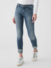 Load image into Gallery viewer, Florence Ankle Mid Rise Skinny Moore