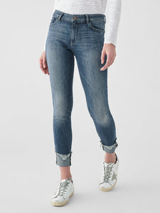 Florence Ankle Mid Rise Skinny Moore