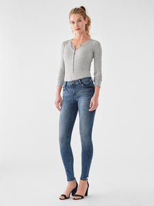 Florence Mid Rise Skinny Barbon