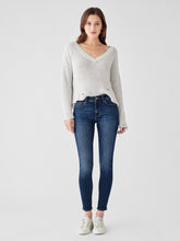 Load image into Gallery viewer, Florence Ankle Mid Rise Skinny Write