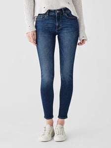 Florence Ankle Mid Rise Skinny Write