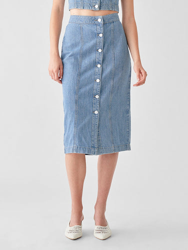 Jeanne Denim Skirt