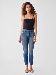 DL 1961 Florence Crop Mid-Rise Skinny Welton